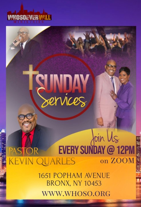 Join Us on Sunday